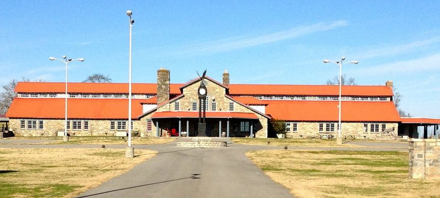 Historic walking horse barn for weddings, receptions, and other large events.  It has a stage with...