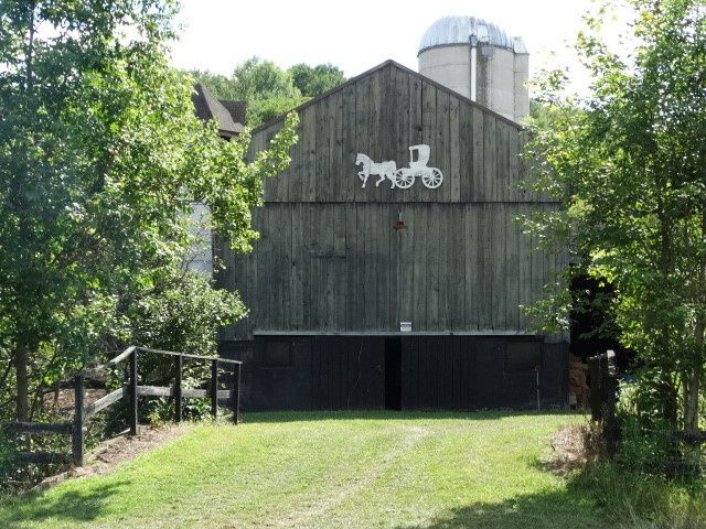 BARN VIEW FROM THE SIDE...