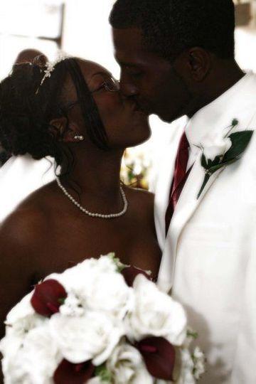 Couple's kiss