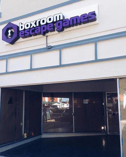 Entrance of Boxroom Escape Games