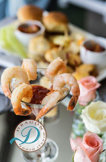 Sample shrimp bites