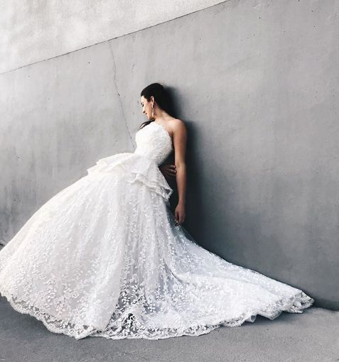 Ball gown for the wedding