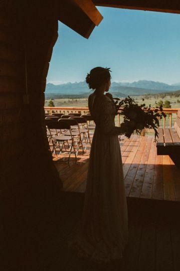 Bride's view