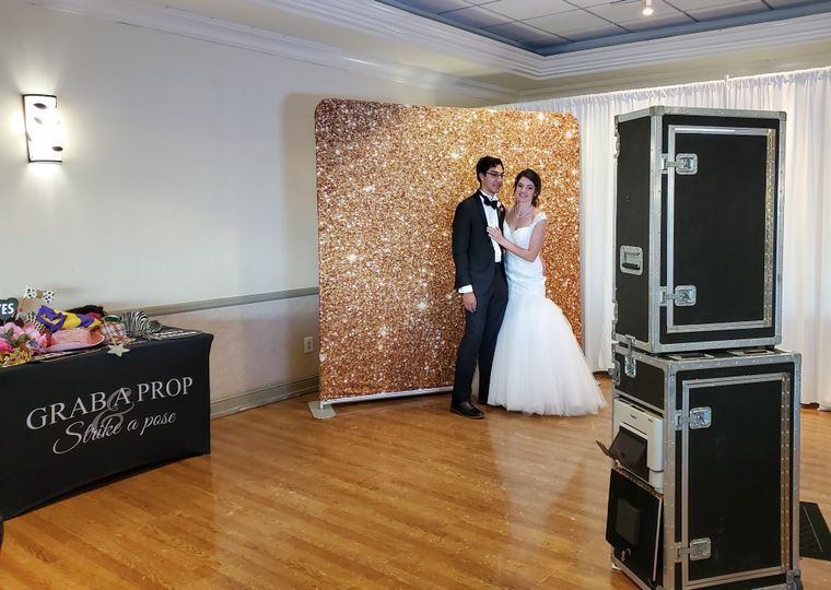 Photo booth- up to 12 in photo