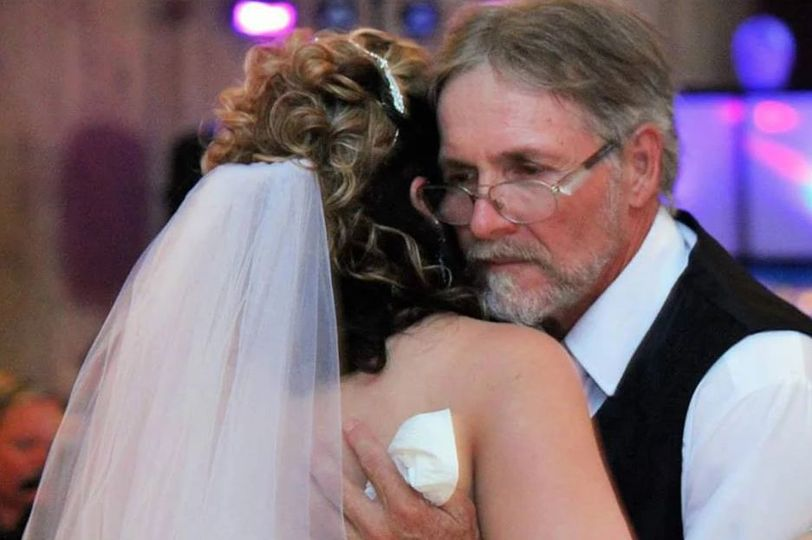 Dancer with her father