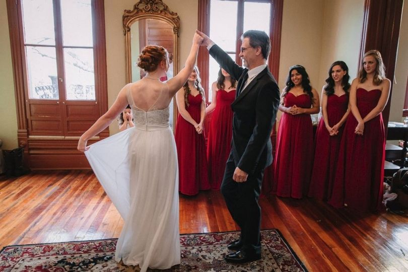 Bridal Suite Twirl