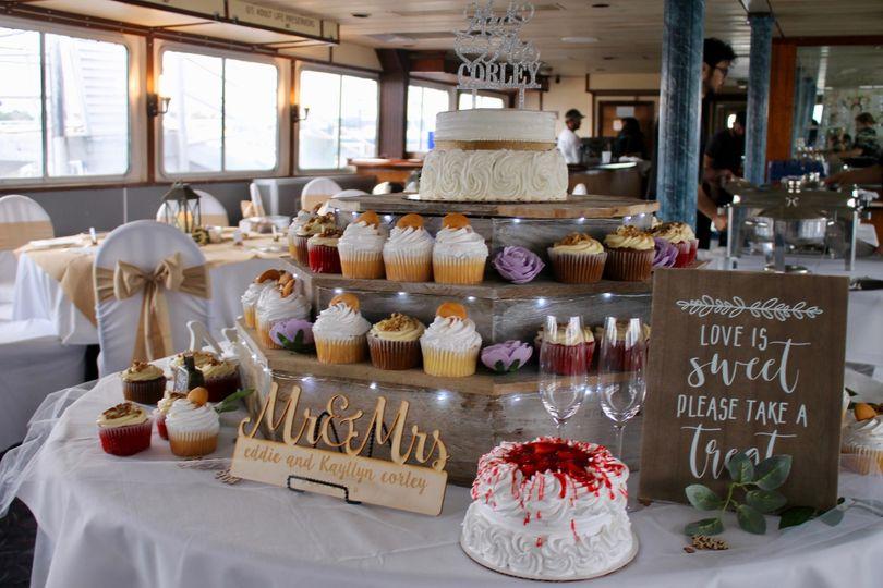Cake table Princess