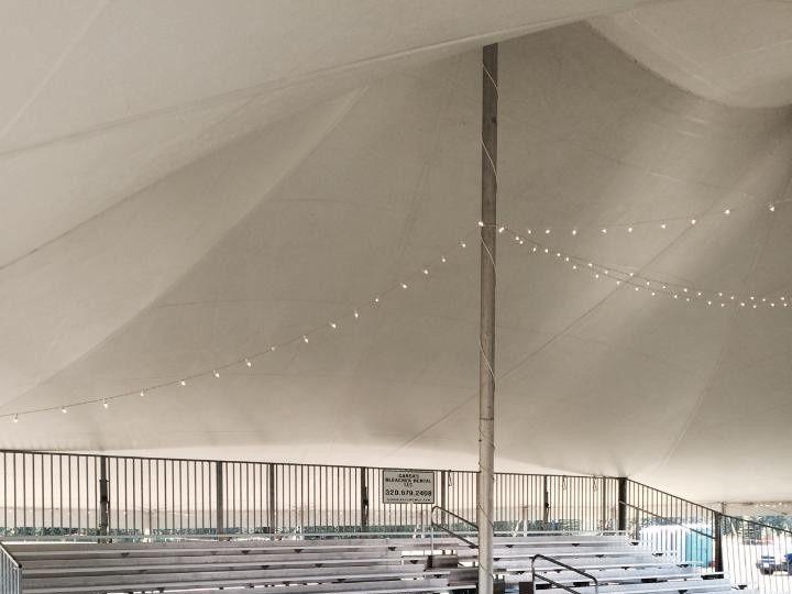Tmx 1445541702725 Bleacher Tent Bovey wedding rental