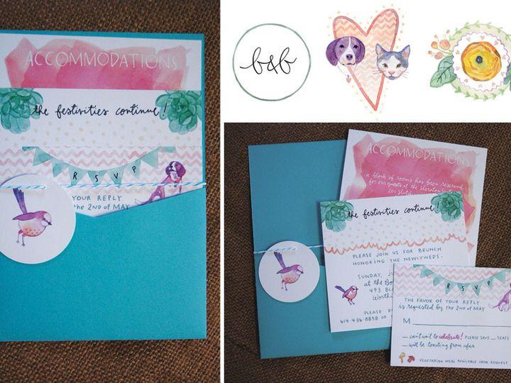Tmx 1414198585647 Bryanne Rochester wedding invitation