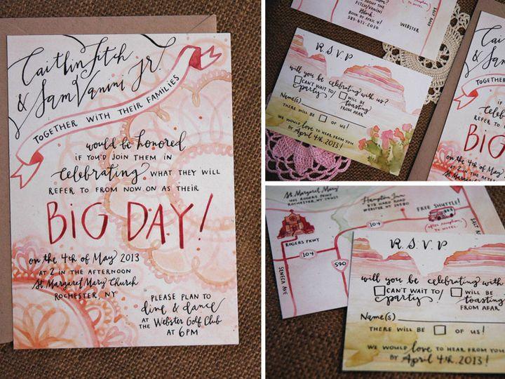 Tmx 1414198590896 Caitlin Rochester wedding invitation