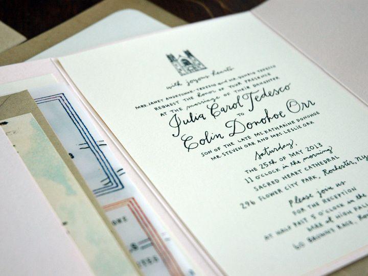 Tmx 1414198599284 Dsc3484 Rochester wedding invitation