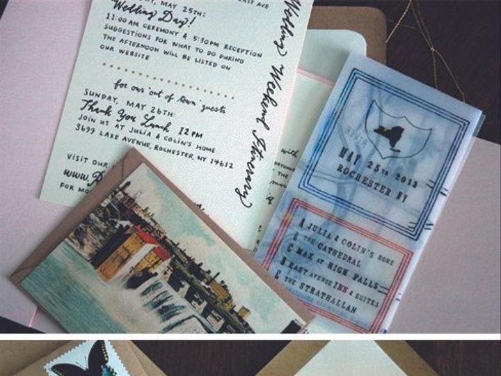 Tmx 1414198631422 Julia Rochester wedding invitation