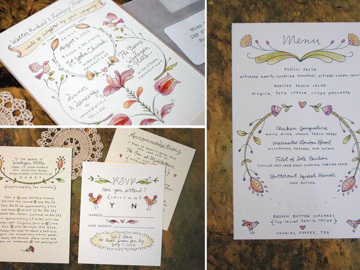 Tmx 1414198643950 Lindsey Rochester wedding invitation