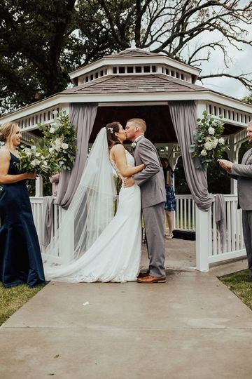 Wedding at Our Gazebo