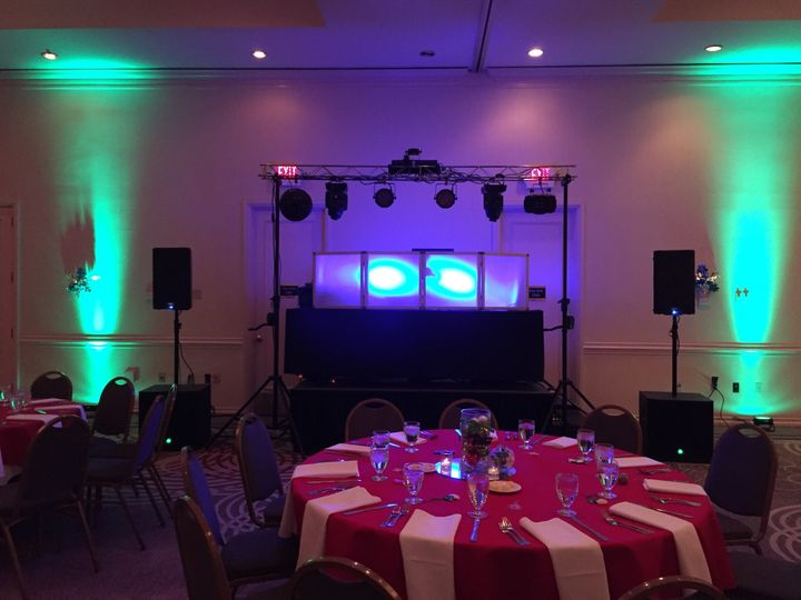 Complete light show for parties and any event