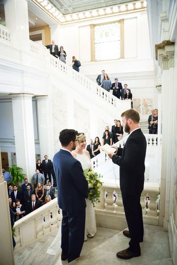 Staircase Ceremony