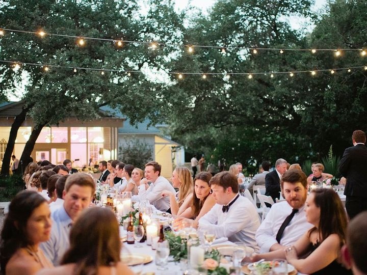 Tmx Reception Outdoor Dinner Seating W Lighting 51 66524 1563213466 Austin, TX wedding venue