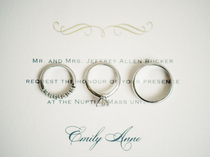 Invitations with rings