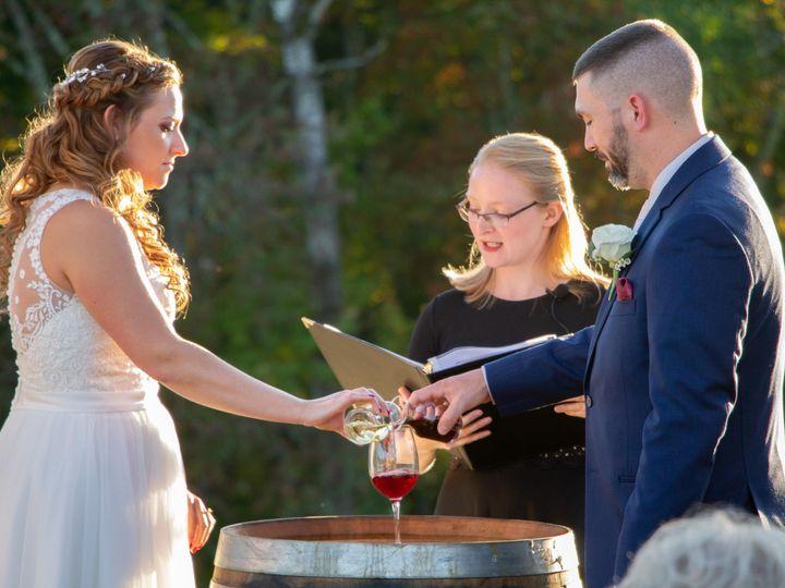Tmx Wine Ceremony 51 998524 158289742576110 Derry, New Hampshire wedding officiant