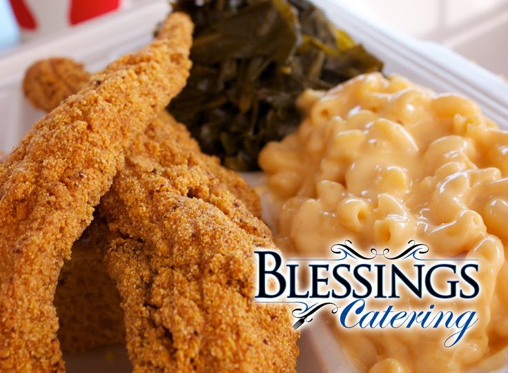 blessings catering business card front print
