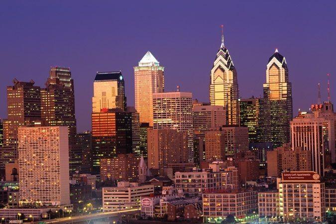 That Philadelphia skyline view though.