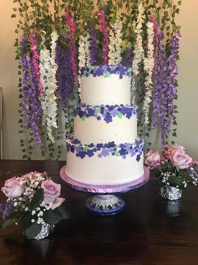 Purple Ombre' Florals