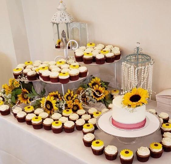 Sunflower Wedding Table