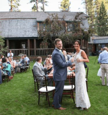 Reception on the Grand Lawn