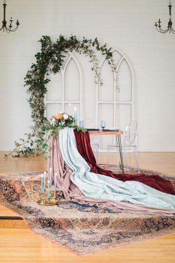 Sweetheart Table Design