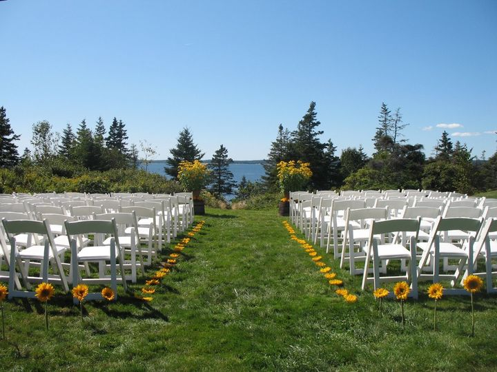 Tmx 1351177874636 SunflowersatNewagen2 Boothbay Harbor, Maine wedding florist