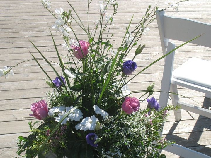 Tmx 1351178591635 Floralplanterwithinserts Boothbay Harbor, Maine wedding florist