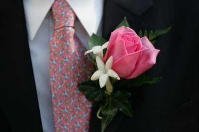 Tmx 1351190453122 Roseandstepnanotisboutonniere Boothbay Harbor, Maine wedding florist