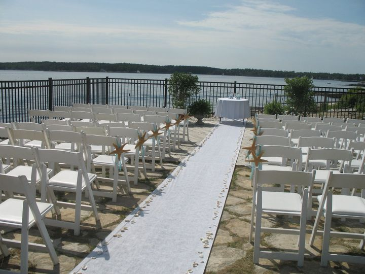 Tmx 1351194532358 Poolsidestarfishshells Boothbay Harbor, Maine wedding florist