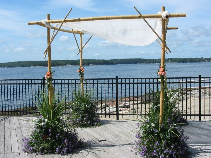 Tmx 1351194566941 Chuppaplanter4 Boothbay Harbor, Maine wedding florist