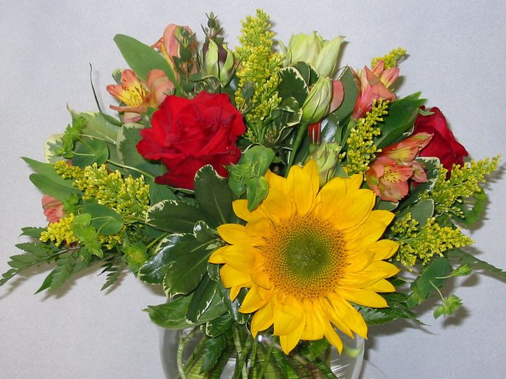 Tmx 1403879226900 Bright Yellow  Red Bubble Boothbay Harbor, Maine wedding florist