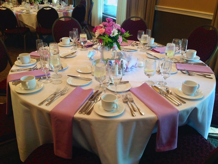 Tmx 1413558648739 Table Setting Pink Nashua wedding venue