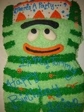 Yo Gabba Gabba Childrens Cake