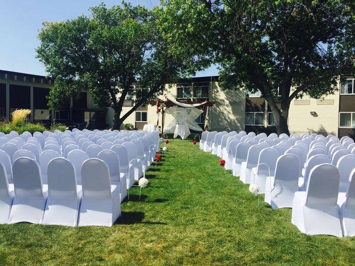 Tmx 1530826341 A80ebef6fdc6c5ff 1530826337 78ac00943eab4976 1530826327823 9 Ceremony Outside 3 Mandan, ND wedding venue