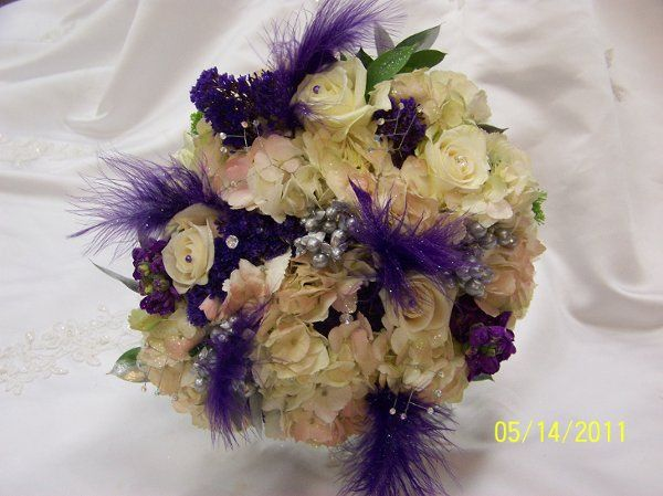 White and violet