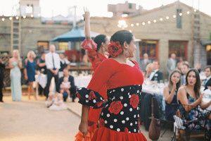 Traditional wedding dance