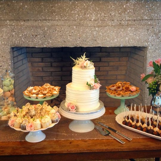 oyster bay dessert table