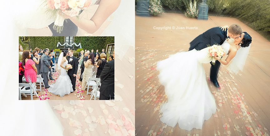 Houston wedding photographer Juan Huerta Photography offers full day coverage at no extra charge,...