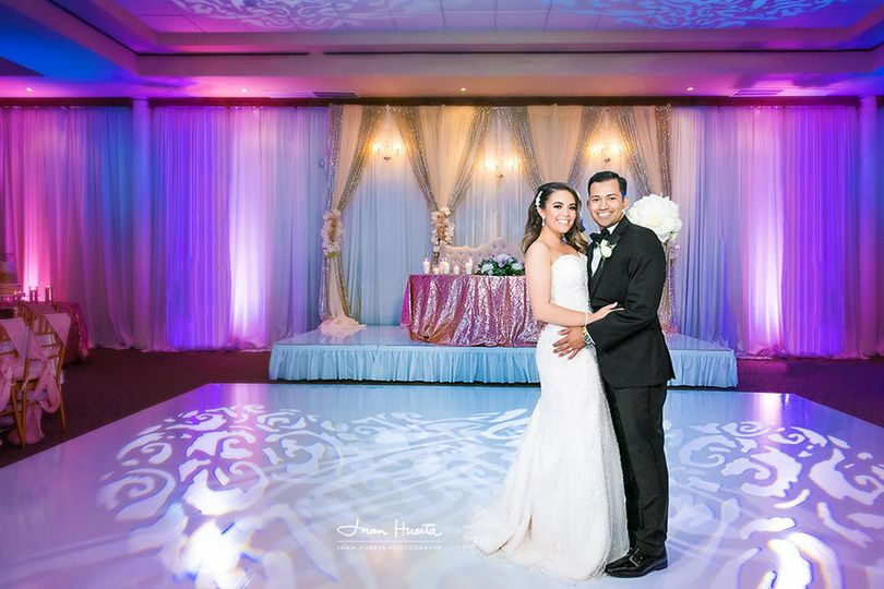The Bougainvilleas, Houston wedding photographer Juan Huerta Photography offers full day coverage at...