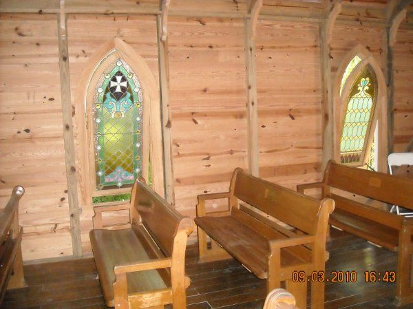 Mary's Chapel at Historic Spanish Point in Osprey, Florida