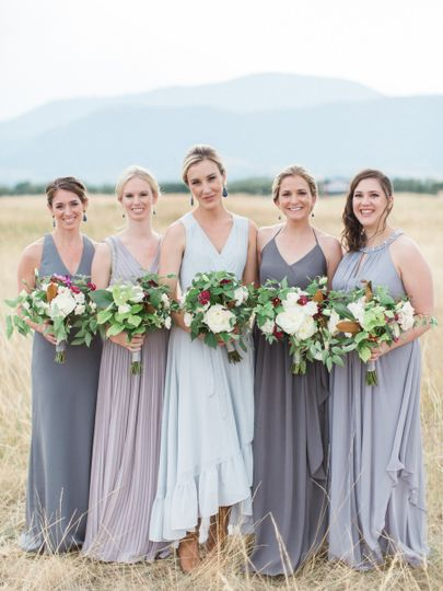 Bride and bridesmaids | Simply Sarah Photography