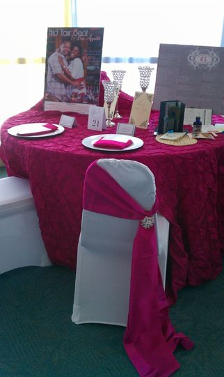 Tyckled Pink at Bridal/Quince Expo. We take care of you planning, linens, decor, stationery, and...