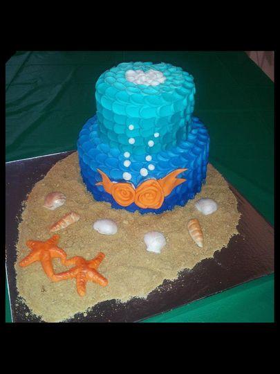 oceanweddingcake