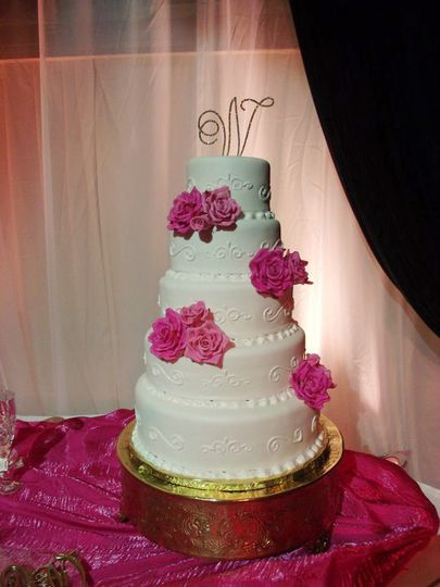 pink and white wedding2