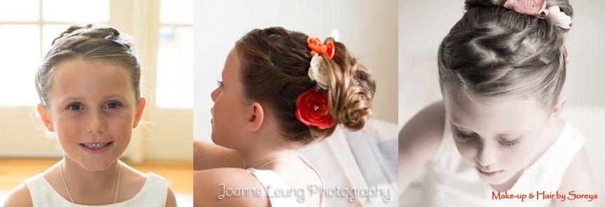 Flowergirlhairstyle