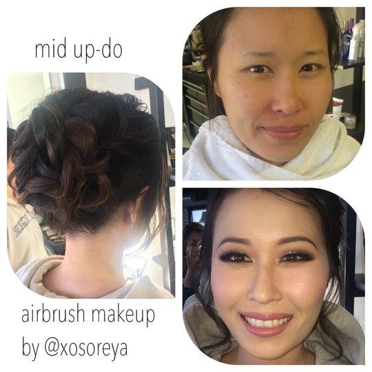 soreya yann asian makeup airbrush